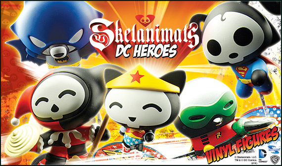 Skelanimals DC Heroes