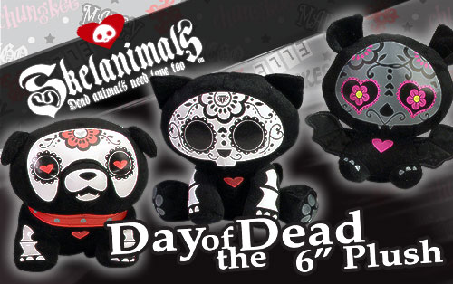 Day of the Dead Skelanimals