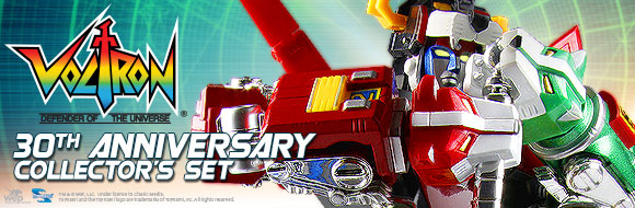 30th Anniversary Voltron