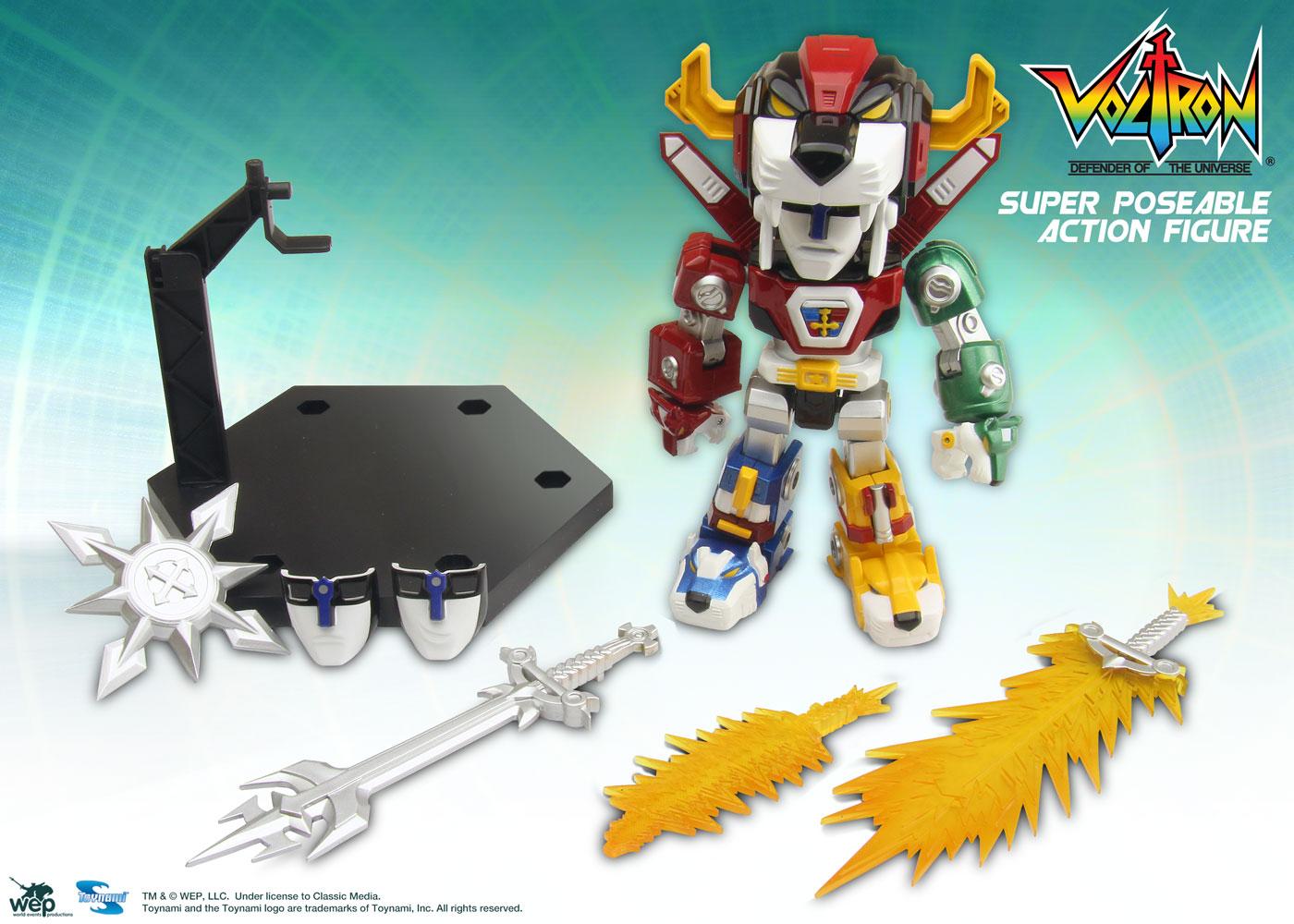 Toynami Voltron Super Posable Action Figure Spiele