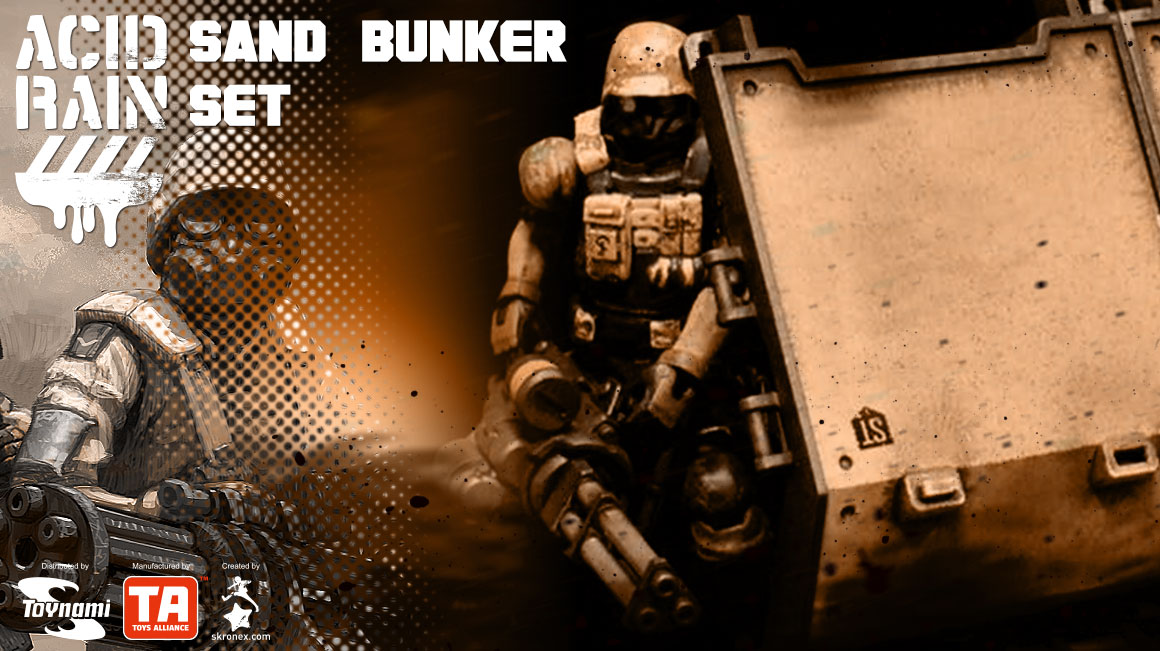 Acid Rain - SAND BUNKER SET